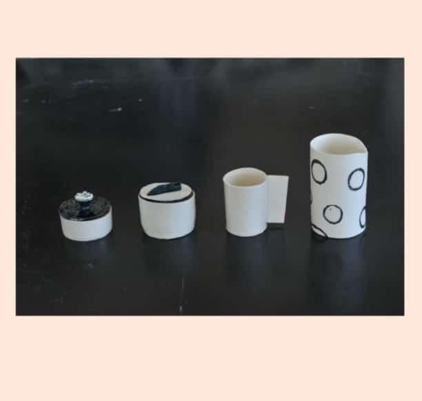 im Studio Textpoterie gibt es Workshops-Porzellan-Handgemacht